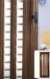 Складная дверь Гармошка Amati A11 - Двери PVC раздвижные. А-11(Та) стекло. Размер(860*2030*18мм). Цвета: белый ясень, сосна, бук, дуб, орех.
