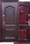 Дверь s46 - Дверь S-46  (молоток + ПВХ). Металлическая входная дверь пр-во Китай. Покрытие молотковое+ПВХ. Размер 860/960 х 2050 х 70. Открывание левое/правое. Петли внутренние. 2 замка.  Утеплитель минеральная вата. Открывание на 180 градусов.