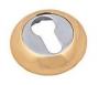 Накладка на евро цилиндр золото. - Накладка на евро цилиндр. Цвет золото.