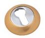 Накладка на евро цилиндр матовое золото - Накладка на евро цилиндр. Цвет матовое золото.