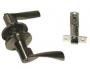 Защелка межкомнатная 860 ab bk - Ручка Arsenal 860 AB BK фиксатор, бронза.