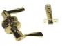 Защелка межкомнатная 860 pb bk - Ручка Arsenal 860 PB BK фиксатор, золото блестящее.