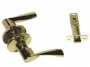 Защелка межкомнатная 860 pb ps - Ручка Arsenal 860 PB PS межкомнатная, золото блестящее.