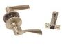 Защелка межкомнатная 860 sb bk - Ручка Arsenal 860 SB BK фиксатор, золото матовое.