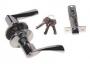 Защелка межкомнатная 860 sn et - Ручка Arsenal 860 SN ET с ключом, хром матовый.