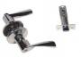 Защелка межкомнатная 860 sn bk - Ручка Arsenal 860 SN BK  фиксатор, хром матовый.