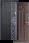 Дверь Арго-1 Сахара - Дверь Арго-1. Покрытие молотковое. Утеплитель – минеральная  вата. Размеры 860,960 х 2050 х 70 мм правые,левые.
